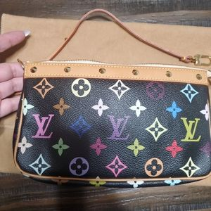 AUTHENTIC!!! Louis Vuitton Multicolore Pochette.